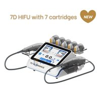 7D Hifu Face Lifting Machine With 7 Cartridges SkinTreatment For Facial Lift Eye Wrinkle Remover Anti-aging Body Slimming Beauty Device