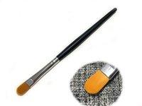 Goede kwaliteit houten paal kleine concealer foundation oogschaduw schoonheid make-up borstel Z003010