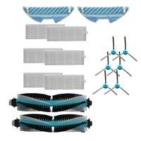 Совместим с Conga 1290 1390 Аксессуары для подметающих роботов, основной кисти Боковой фильтрующий ткань Набор вакуумных очистителей