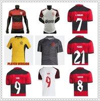لاعب نسخة 21 22 Flamengo Soccer Jersey 2021 2022 البرازيل Supercopa Final Guerrero Diego Vinicius JR Jerseys Gabriel B كرة القدم بعيدا