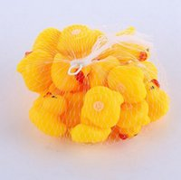 Mini Duck Toy Baby Yellow Rubber Sounds Bath Ducks Kids Bath Small Duck Toy Children Swiming Learing Toys