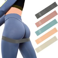 Resistance Bands Fitness Gum Exercise Gym Strength Workout Elastic For Mini Yoga Crossfit Training Equipment