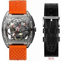 Designer Luxury Marca relógios Ciga Design Z Series Titânio Homens Mecânica Automática Es Sapphire Top Zegarek Meski