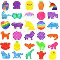 2021 Tiktok Neueste Fluoreszenz Pop Pop Blase Sensorie Zappeln Spielzeug Autismus Sonderanforderungen Stress Reliever Senside Spielzeug Für Kinderfamilie