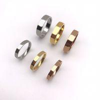 Кольцо камни стерлингового серебра простые и универсальные мужчины женщины пара многофункциональные ювелирные изделия моды