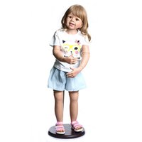 NPK 98CM Original Masterpiece Doll toddler baby girl 3-4years old real baby dress model body ball jointed doll collectibl LJ201031