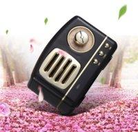 Creativo HM11 Retro Bluetooth Altavoz de Bluetooth Tarjeta portátil inalámbrica Subwoofer ABS Plastic Electroplating U Disco TF Tarjeta Salida de audio 400mAh