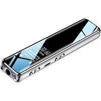 Digital Voice Recorder Q22 Mini Audio Pen 16GB To Text Activated Recording Conference