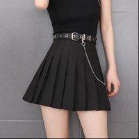 Preppy Style Plaid Fashion Women Skirts High Waist Chic Student Pleated Harajuku Uniforms Ladies Girls Dance