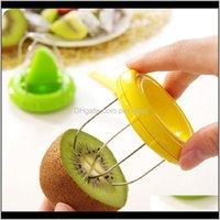 Décor Home Garden25 # Mini Frutas Kiwi Cutter Peeler Slicer Cozinha Gadgets Ferramentas Peeling para Pitaya Green para Aessies Vasos Drop Delivery 20