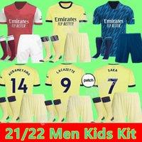 الرجال الاطفال 2021 2022 Ødegaard ويليان آرسن لكرة القدم جيرسي كيت بيبي ساكا توماس نيكولاس تيرني 21 22 gunners كرة القدم قميص الطفل الكبار مجموعات