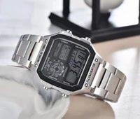2021 Relogio G GWG100 GWG100 Orologi sportivi da uomo GW1000 Display LED Fashion Fashion Gestry Shocking Guarda Uomo Casual WristWatches in acciaio cintura