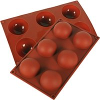 Half Ball Sphere Silicone Cake Mold Muffin Chocolate Cookie Baking Mould Pan Tools Kitchen Baking Scraper