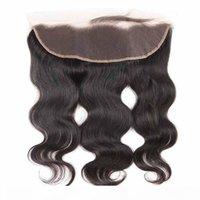 Малайзийские ременные волосы прямые кузова волна верхние кружева лобное закрытие бразильские девственницы реми человеческие волосы прямые свободно волна кружева лобное закрытие