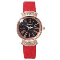 Douyin Online-Influencer Heißer Verkauf des gleichen Stils Student Gürteluhr Kreative Damen Römische Römische Skalie Sternenhimmel Watch Factory Direct Sales