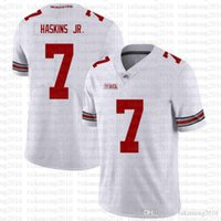 NCAA Ohio State Buckeyes 97 Nick Bosa 7 Dwayne Haskins Jr American Football Jersey Rot Tom Brady Saquon Barkley XSafec