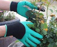 Guanti da giardino impermeabili con artigli per donne e uomini Forniture da giardino Giardino all'aperto Scavatura Piantatura di semi di diserbo Assessuale Protenteood6002