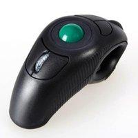 Mouse Wireless Wireless Universal Trackball Souris 2.4GHz Handheld est conçu de manière ergonomique avec un récepteur USB optique.