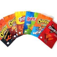 600 мг Cheetos Maylar Bag Доритос Сыр Gummi Worm Cheetos Сумка костных оборками Эдиклы Фламин Горячая липкая застежка-молния Упаковка