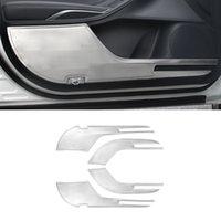 Pour Toyota Avalon XX50 2019-2021 Accessoires de voiture Acier inoxydable Porte interne Porte-couvre-pieds Couvercle Cadre Cadre Cadre Décoration