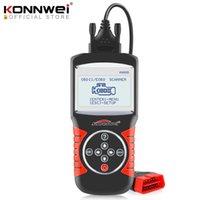 KONNWEI Strumenti diagnostici KW820 Scanner Automotive Multi-Lingue OBDII EBD Diagnostica Strumento Diagnostica Errori auto Lettore di codice Scanner diagnostico in spagnolo