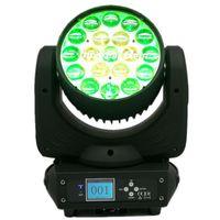 Effetti 10 pezzi 19x15w Testa di testa Movin LED Zoom Wash Lyre RGBW Blochinghead DJ