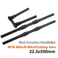 Bike Handlebars &Components Quickly Fold Handle Bar Aluminium Alloy 22.2mm E-Bike Folding Handlebar Electric Scooter Bicycle Foldable Access