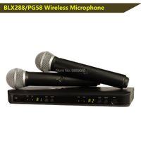 , BLX88 / PG58, BLX288 Professional UHF PLL TRUE DIVERSIDAD MICRÓFONOS DUAL MICRÓFONOS DUAL