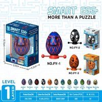 New hot parent-child interactive stress relief tool children's mind Easter puzzle toy maze ball