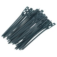 13.5cm / 17cm Câbles de plante plastique Cadre de câble réutilisable Cadre de serre à effet de cuisson pour le support d'escalade de jardin