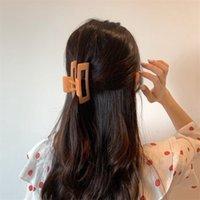 Frau Elegantes Haar Clip Barrettes Klaue Quadratische Haarnadeln Krabben Hiars Zubehör Frauen Haargrip Mädchen Clips Headwear 278 W2