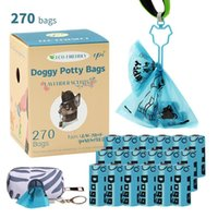 Dog Travel & Outdoors Environmentally Friendly Degradable Pet Poop Bags Garbage Bag Cleaning Supplies Trash 270 With Storage And Hook
