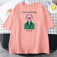 Men Women's Jumpsuits Squid Game T Shirt Child Kids Game Battle Squidgamer Cotton Clothing Hipster Tees Printing T-Shirts