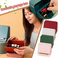 Storage Boxes & Bins Desktop Organizer Drawer Makeup Box Stackable Jewelry Container Large Capacity Mask Office Case #T3G
