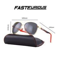 Tasarımcı Güneş Gözlüğü En Kaliteli Havacılık Pilot Güneş Gözlükleri Erkekler Kadınlar Için Siyah veya Kahverengi Deri Kılıf Ile UV400 ve Kutusu R8313