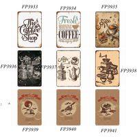 Kunst Aufkleber Eisen Malerei Metall Zinn Retro Wand Plaque Zeichen Farben Home Restaurant Dekoration Pub Zeichen Wanddekoration Customized BWD7201