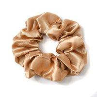 Scrunchies Hairbands Bandas de Cabelo Sólido Cabelo Grande Intestino Cabelo Laços Ropes Meninas Titular De Cabelo Acessórios 6 Designs M2419 348 K2