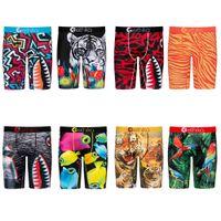 Erkekler Şort 2021 Tasarımcı Stilleri Ethika Moda erkek Boxer Iç Çamaşırı Spor Hiphop Kaya Tarım Kaykay Sokak Hızlı Kuru Pantolon 001