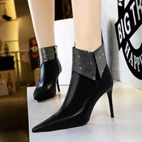 Winter new Knights boots Letter Socks women shoes Knitted elastic High Boots fashion platform lady Ankle boots100% leather woman shoes
