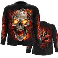 Men's Hoodies & Sweatshirts Mens Casual Skull Lava Blast 3D Print Harajuku Pullover Women Hood Hip-Hop Jacket Unisex Streetwear 01