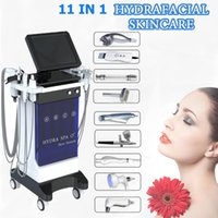 Hydro microdermabrasion facial machine vacuum blackhead removal hydra dermabrasion peeling equipment 11 PCS handles