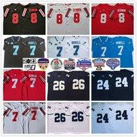 NCAA College Futebol Jerseys Penn State Nithany 26 Saquon Barkley 24 Keyvone Lee Ohio States Buckeyes 8 Trey Sermão 7 CJ Strud North Carolina Tar Heaels Sam Howell