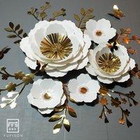 FFS Flower Background tridimensionale decorazione del partito wedding shopwindow decorazione della parete 210408
