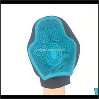 Home & Gardensile Brush Deshedding Gentle Efficient Pet Grooming Glove Dog Bath Cat Cleaning Supplies Combs1 Drop Delivery 2021 Pbngd