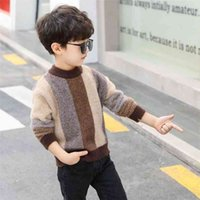 Children's sweater Winter Cotton Clothing Sweater teenage boys clothing fall knit 10 12 14 years 210914