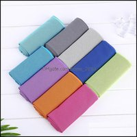 Textiles Home & Gardensport Cooling Towel Microfiber Instant Cool Ice Face Towels For Gym Swimming Yoga Running 30X80Cm Quick-Dry Sweat Drop