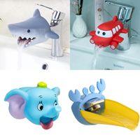 TJ Cute Animal Extender Water Dzieci Oszczędzanie Kreskówka Faucet Narzędzie Pomoc Przemywalka Ręki Łazienka Zabawki Kuchnia Kuchnia Tap Tok Kids