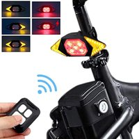 Bike Lights Bicycle Taillight Reflectors For USB Smart Lamp Rear Light MTB Road Cycling Turning Signal Warning