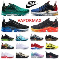 2020 Nike air Vapormax Новый TN Plus Game Royal Orange США Tangerine мятой Grape Volt Hyper Violet Тренажёры Спорт Sneaker Mens женщин Дизайнер кроссовки