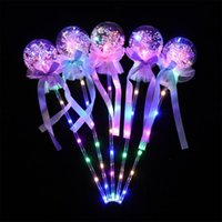 Party Decoration Kids Cartoon LED Flashing Light-Up Stick Concert Props Glowing Electronic Fun Toys Christmas Year Children Gifts
